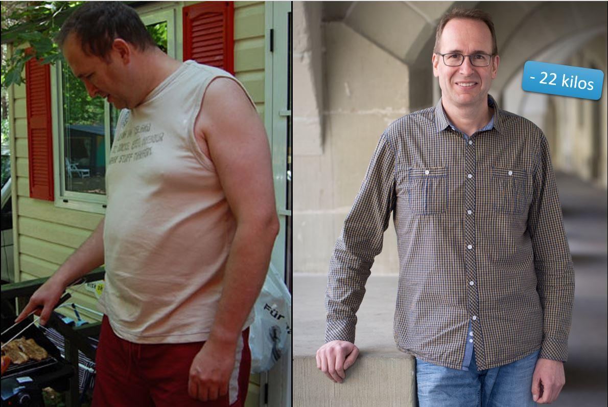 Markus avant après -21 kilos
