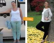 membre eBalance, après perte de poids, -12 kilos